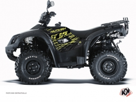 TGB Blade 1000 V-TWIN ATV Eraser Graphic Kit Neon Grey