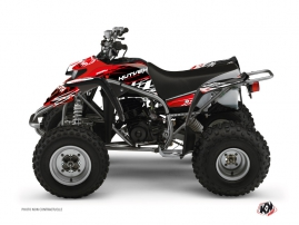 Yamaha Blaster ATV Eraser Graphic Kit Red White