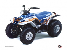 Kit Déco Quad Eraser Yamaha Breeze Bleu Orange