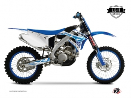 TM EN 125 Dirt Bike Eraser Graphic Kit Blue LIGHT
