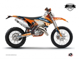 KTM EXC-EXCF Dirt Bike Eraser Graphic Kit Blue Orange LIGHT