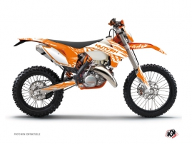 KTM EXC-EXCF Dirt Bike Eraser Graphic Kit Orange