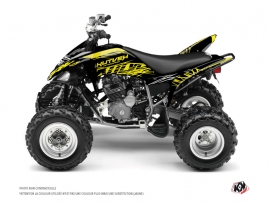 Yamaha 250 Raptor ATV Eraser Fluo Graphic Kit Yellow