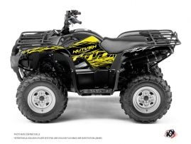 Yamaha 350 Grizzly ATV Eraser Fluo Graphic Kit Yellow