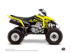 Suzuki 400 LTZ IE ATV Eraser Fluo Graphic Kit Yellow