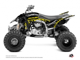 Yamaha 450 YFZ R ATV Eraser Fluo Graphic Kit Yellow