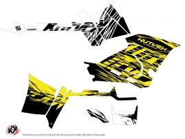 Polaris 570 Sportsman Forest ATV Eraser Fluo Graphic Kit Yellow