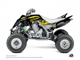 Yamaha 700 Raptor ATV Eraser Fluo Graphic Kit Yellow