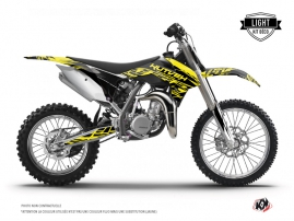 KTM 85 SX Dirt Bike Eraser Fluo Graphic Kit Yellow LIGHT