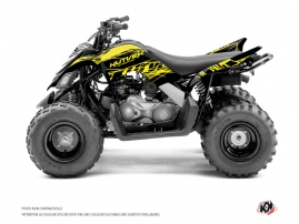 Yamaha 90 Raptor ATV Eraser Fluo Graphic Kit Yellow