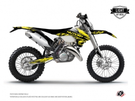 KTM EXC-EXCF Dirt Bike Eraser Fluo Graphic Kit Yellow LIGHT