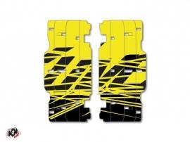 Graphic Kit Radiator guards Eraser Fluo KTM SX-SXF 2015 Yellow