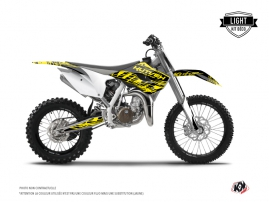 Kit Déco Moto Cross Eraser Fluo Husqvarna TC 85 Jaune LIGHT