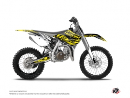 Husqvarna TC 85 Dirt Bike Eraser Fluo Graphic Kit Yellow