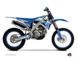 Kit Déco Moto Cross Eraser TM MX 250 FI Bleu
