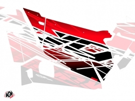 Graphic Kit Doors Origin Eraser UTV Polaris RZR 900S/1000/Turbo 2015-2017 Red White