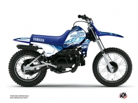 Kit Déco Moto Cross Eraser Yamaha PW 80 Bleu