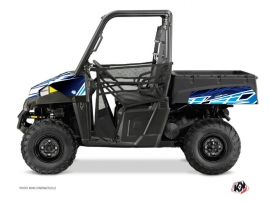 Polaris Ranger 570 UTV Eraser Graphic Kit Blue