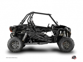 Polaris RZR 1000 Turbo UTV Eraser Graphic Kit Black Grey