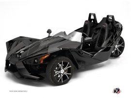 Polaris Slingshot Roadster Eraser Graphic Kit Black Grey