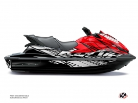 Kawasaki STX 160 Jet-Ski Eraser Graphic Kit Grey