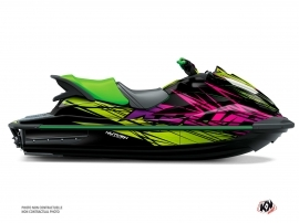 Kawasaki STX 160 Jet-Ski Eraser Graphic Kit Green