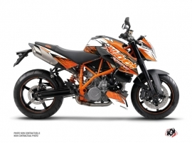 KTM Super Duke 990 Street Bike Eraser Graphic Kit Orange Black