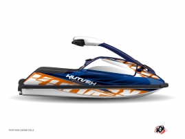 Kit Déco Jet-Ski Eraser Yamaha Superjet Bleu Orange