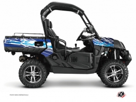 CF Moto U Force 800 UTV Eraser Graphic Kit Blue