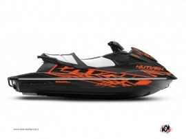 Yamaha VX Jet-Ski Eraser Graphic Kit Grey Orange