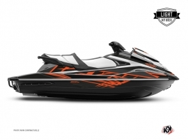 Yamaha VX Jet-Ski Eraser Graphic Kit Grey Orange LIGHT