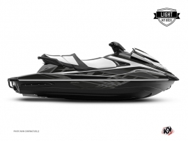 Yamaha VX Jet-Ski Eraser Graphic Kit Black Grey LIGHT