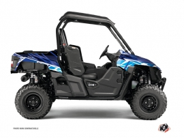 Yamaha Wolverine-R UTV Eraser Graphic Kit Blue