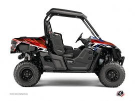 Yamaha Wolverine-R UTV Eraser Graphic Kit Red White