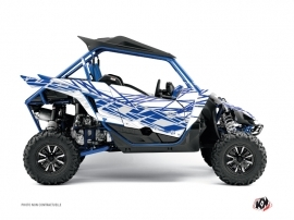 Yamaha YXZ 1000 R UTV Eraser Graphic Kit White