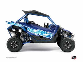 Yamaha YXZ 1000 R UTV Eraser Graphic Kit Blue