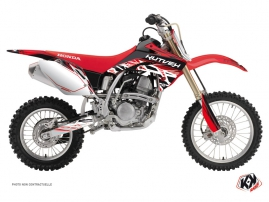 Kit Déco Moto Cross Eraser Honda 150 CRF Rouge Blanc