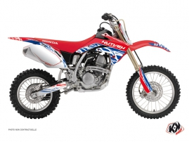 Kit Déco Moto Cross Eraser Honda 150 CRF Rouge Bleu