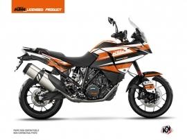 Kit Déco Moto Eskap KTM 1190 Adventure Orange Blanc