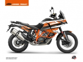 KTM 1190 Adventure R Street Bike Eskap Graphic Kit Orange White