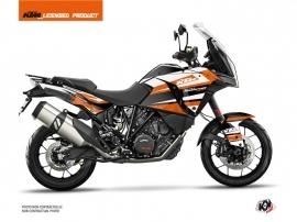 KTM 1290 Super Adventure S Street Bike Eskap Graphic Kit Orange White