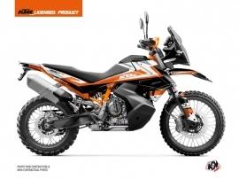 KTM 790 Adventure R Street Bike Eskap Graphic Kit Orange White