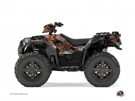 Kit Déco Quad Evil Polaris 1000 Sportsman XP Forest Gris Orange