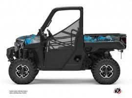 Kit Déco SSV Evil Polaris Ranger 1000 XP Gris Bleu