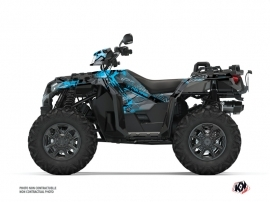Kit Déco Quad Evil Polaris 1000 Sportsman XP S Forest Gris Bleu