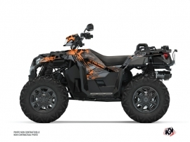 Kit Déco Quad Evil Polaris 1000 Sportsman XP S Forest Gris Orange