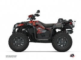 Kit Déco Quad Evil Polaris 1000 Sportsman XP S Forest Gris Rouge