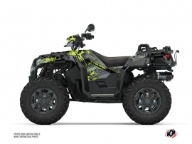 Kit Déco Quad Evil Polaris 1000 Sportsman XP S Forest Gris Vert