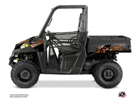 Polaris Ranger 570 UTV Evil Graphic Kit Grey Orange
