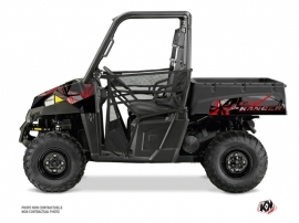 Polaris Ranger 570 UTV Evil Graphic Kit Grey Red